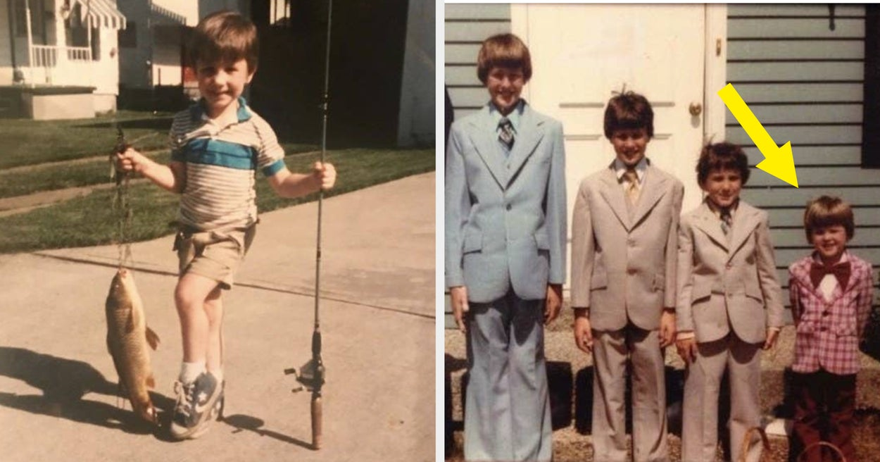 """34 Pictures Of LGBTQ People As Kids That Scream """"Mom, How Did You Not Know?"""""""