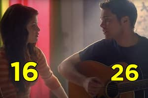 "Selena Gomez was 16 and Drew Seeley was 26 when ""Another Cinderella Story"" premiered"