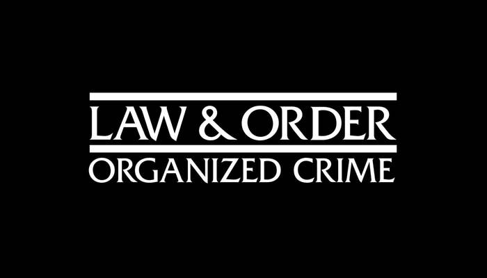 Title card for Law & Order: Organized Crime
