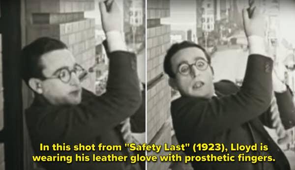 Harold dalam film & quot; Safety Last & quot;