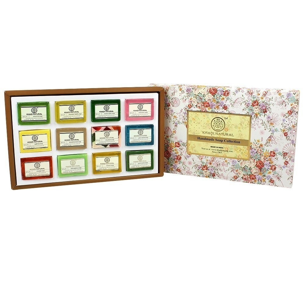Packaging of the soap set with the interior