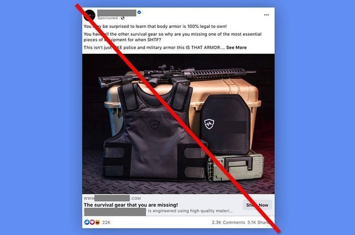 facebook pauses ads for gun accessories and milit 2 13672 1610837331 6 dblbig jpg?resize=1200:*
