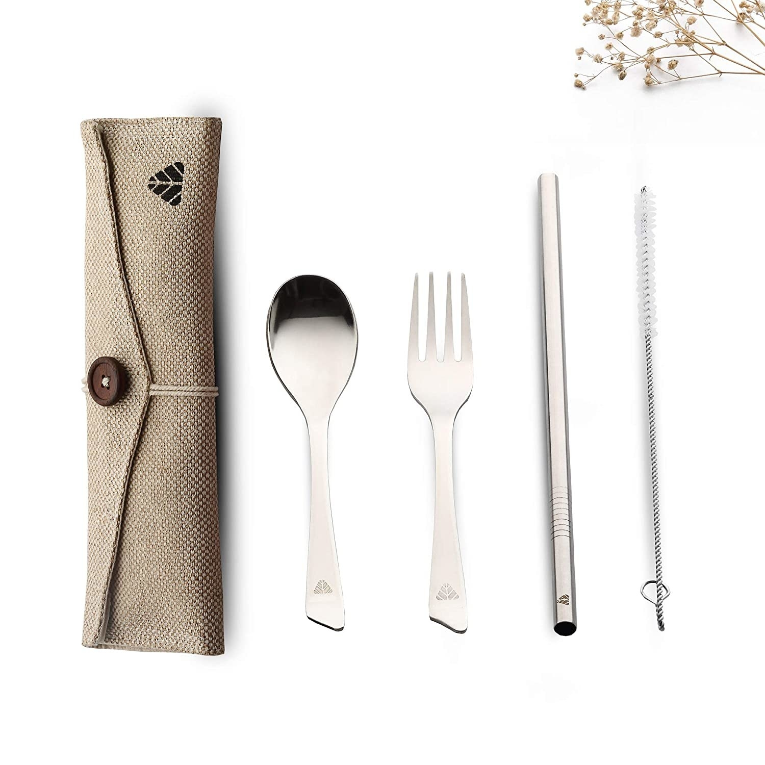 A set of travel cutlery