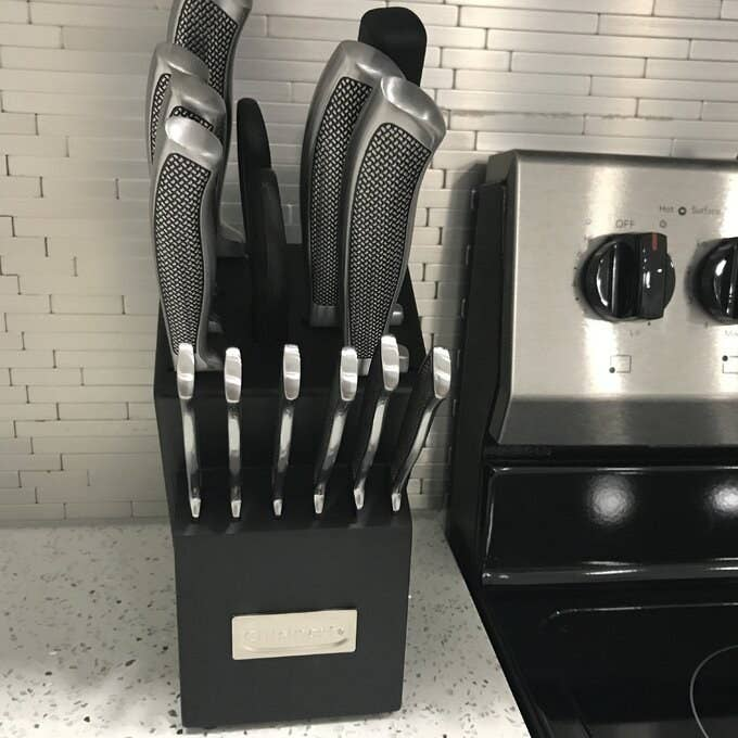 Review photo of the knife set