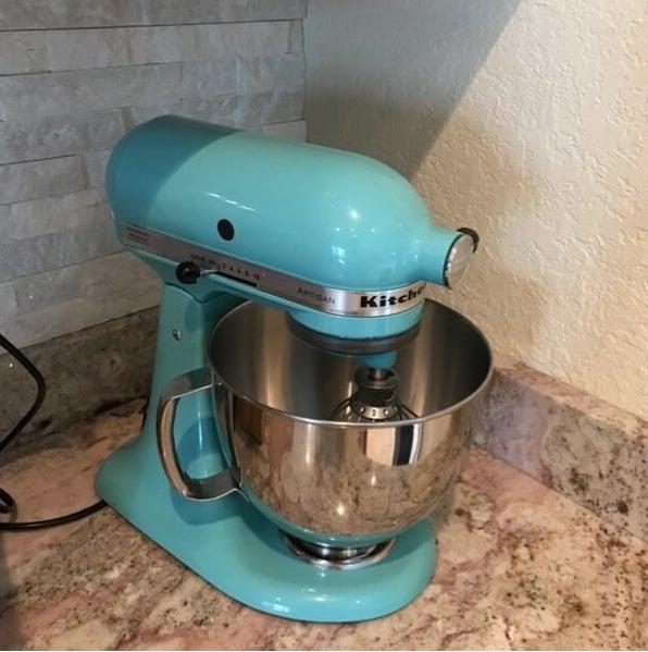 Review photo of the aqua sky mixer