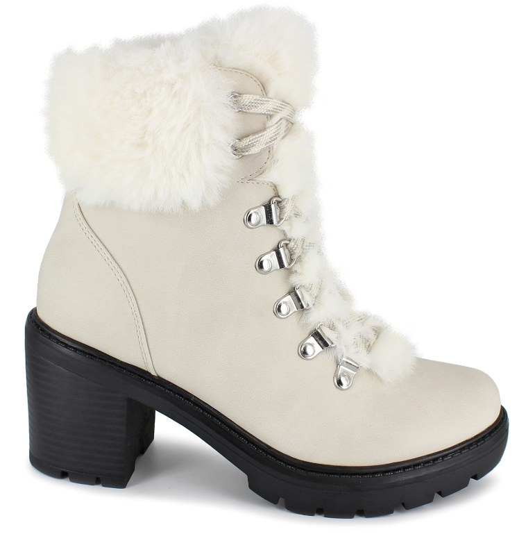 The fur-lined boots