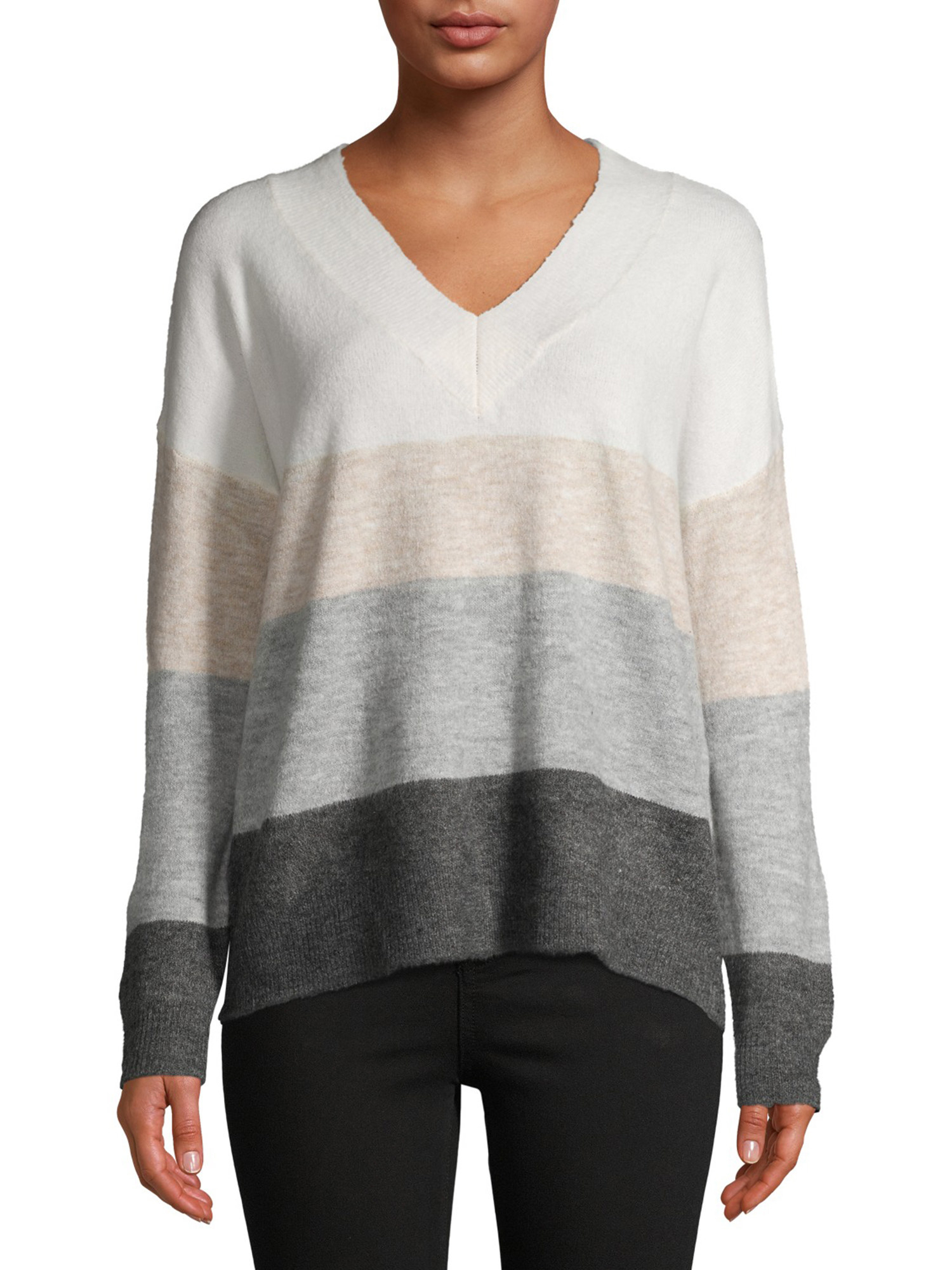 The v-neck sweater