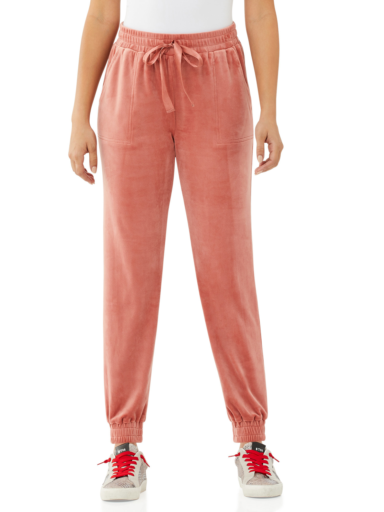 The velour joggers