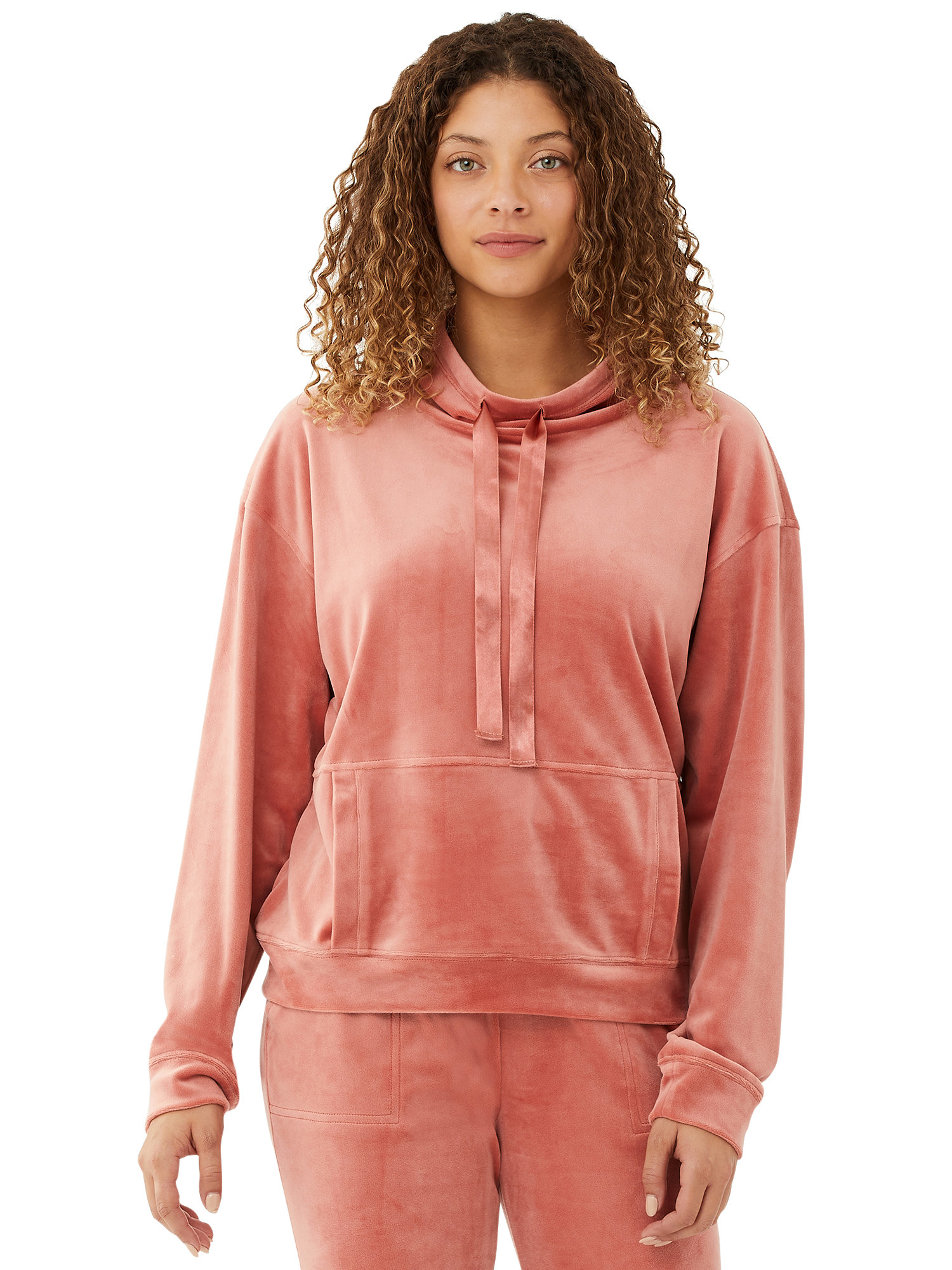 The velour pullover