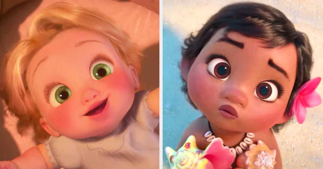 Here Are 24 Disney Characters As Babies — Can You Identify Them All? - buzzfeed