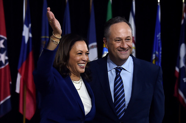 Kamala Harris Revealed A Ton Of Charming Details About Her First Date With Husband Doug Emhoff