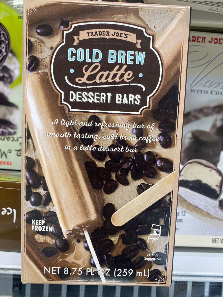 Cold Brew Latte Dessert Bars
