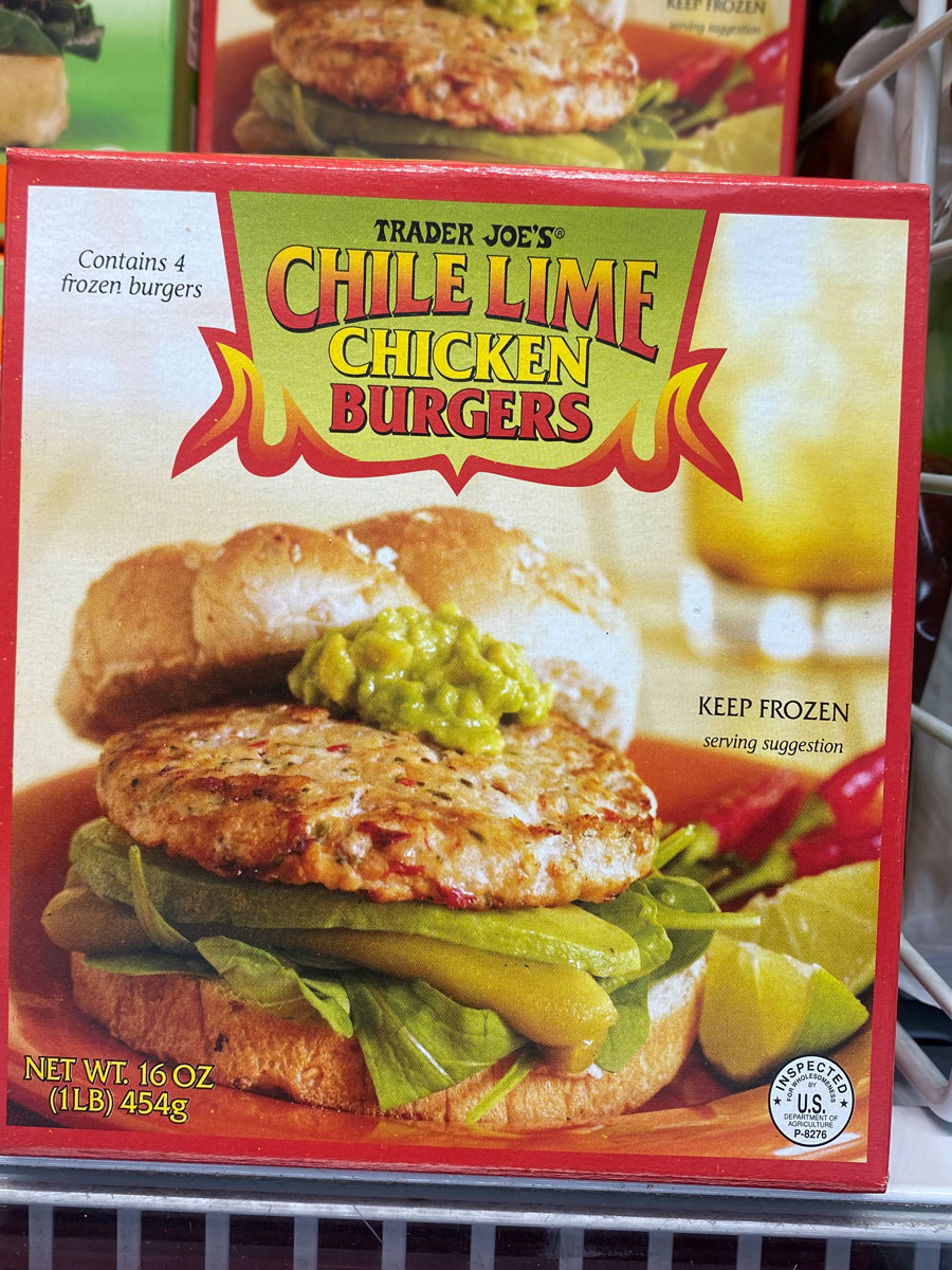 Chile Lime Chicken Burgers