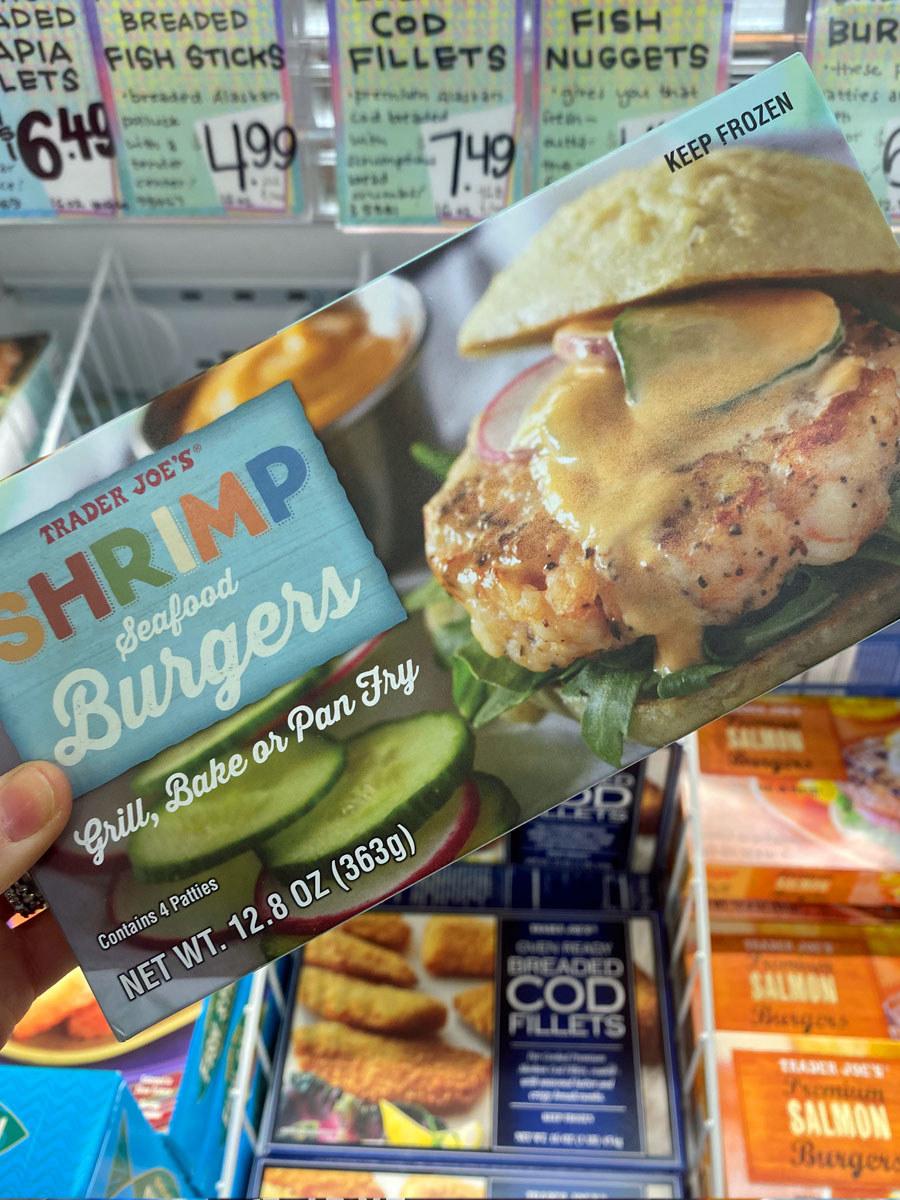 Spring Seafood Burgers