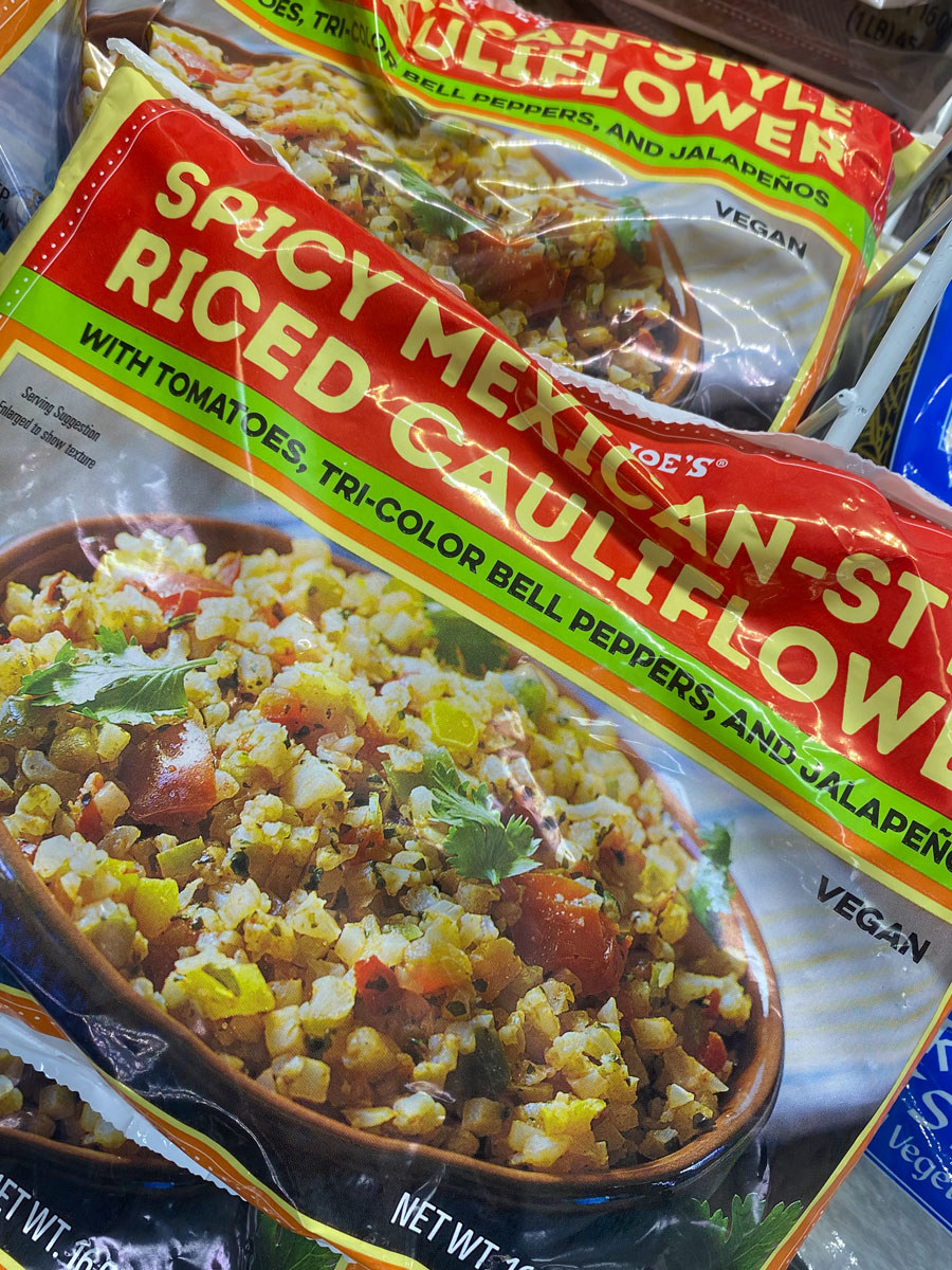 Spicy Mexican Riced Cauliflower