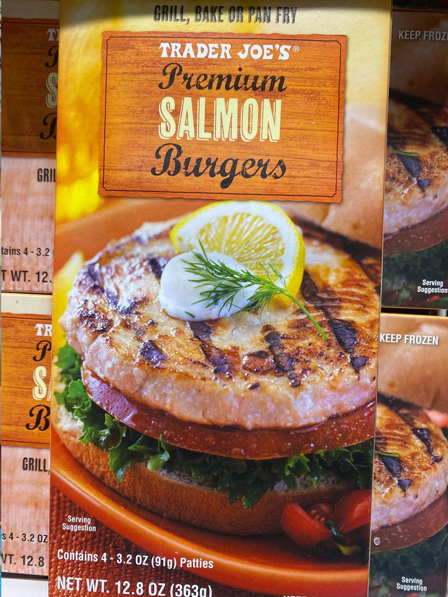 Premium Salmon Burgers