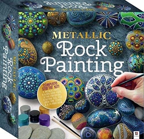 The rock painting set box