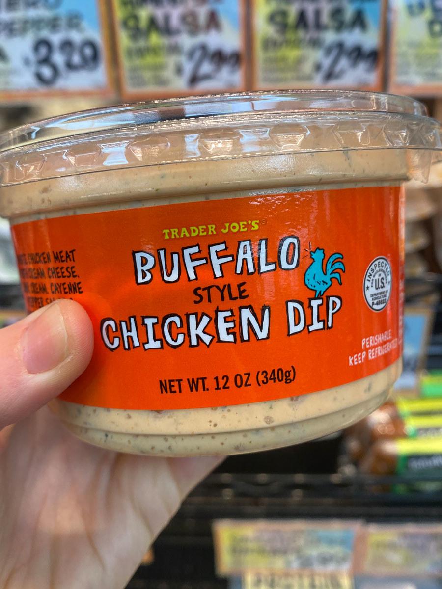 Buffalo Style Chicken Dip