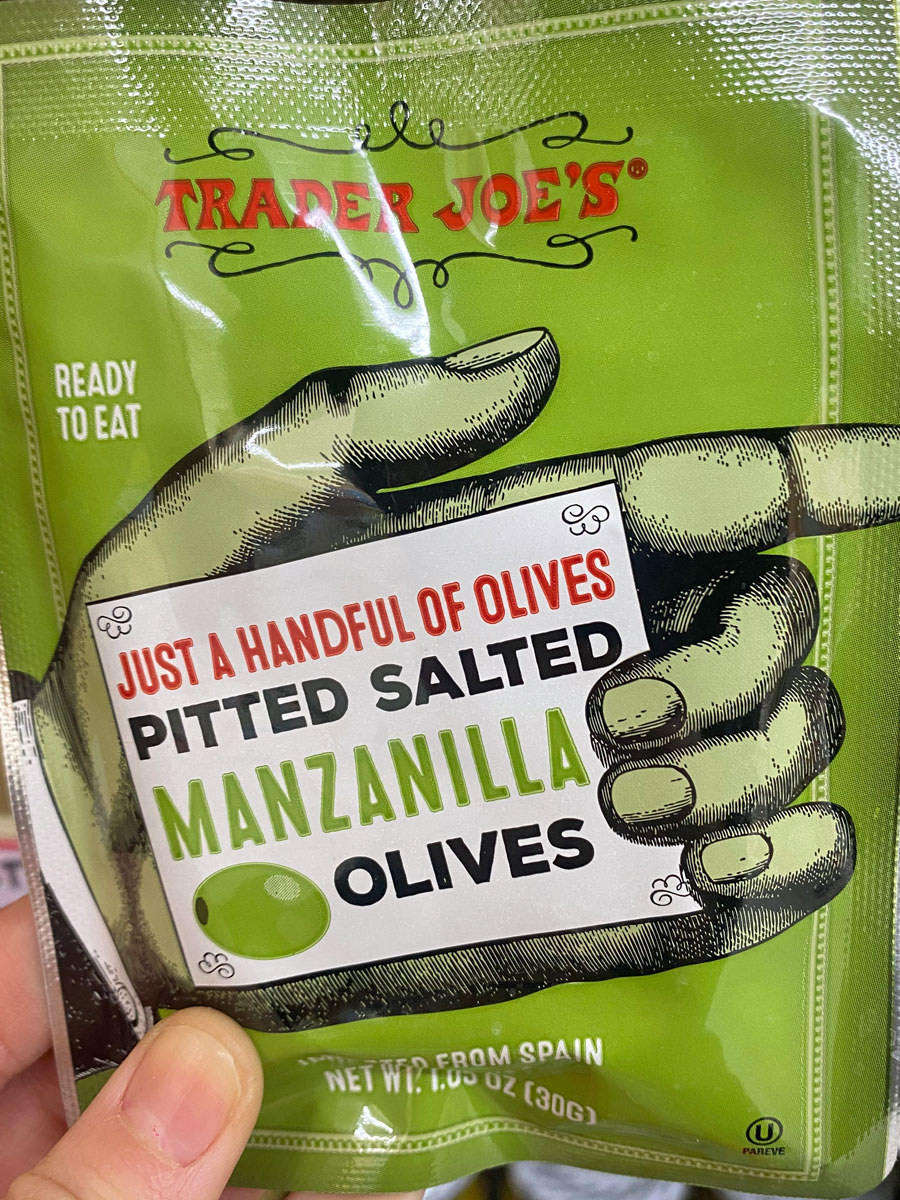 Pitted Salted Manzanilla Olives