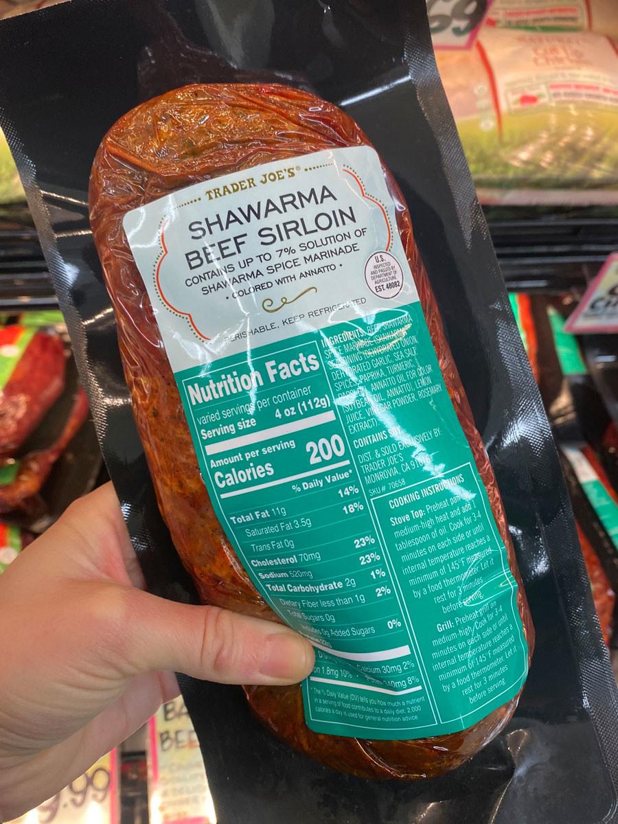 Shawarma Beef Sirloin