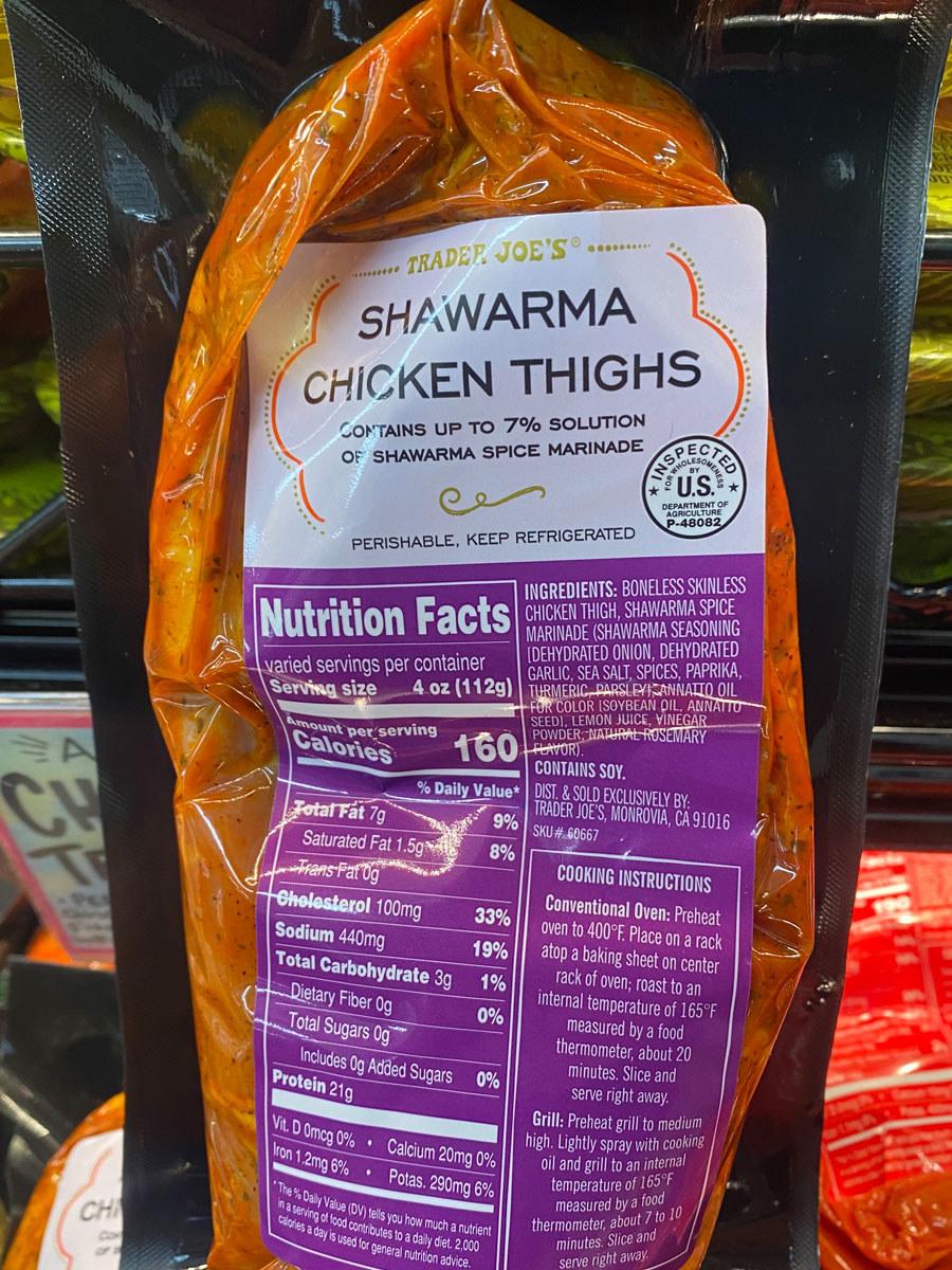 Shawarma Chicken Thighs