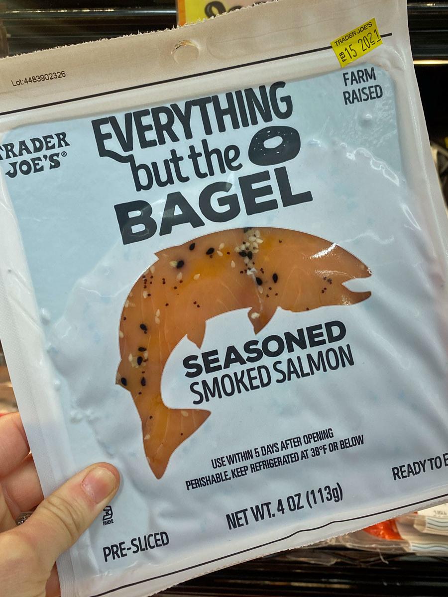Everything But The Bagel Seasoned Smoked Salmon