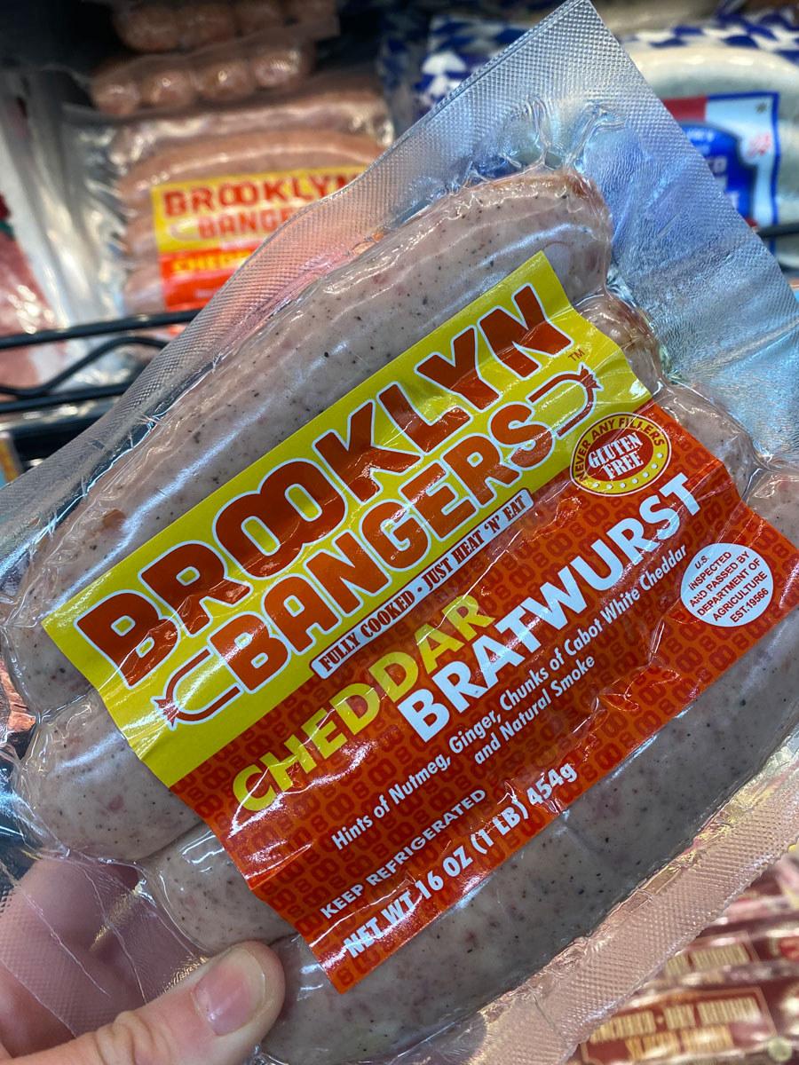 Brooklyn Bangers Cheddar Bratwurst