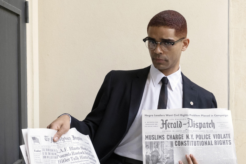 ONE NIGHT IN MIAMI, Kingsley Ben-Adir as Malcolm X