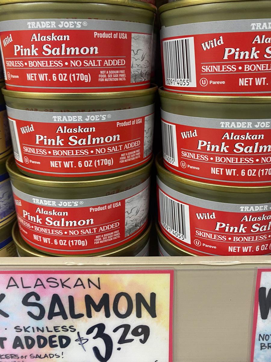 Alaskan Pink Salmon