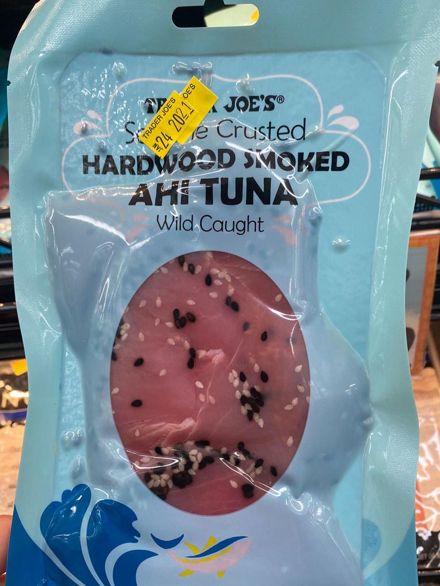 Sesame Crusted Hardwood Smoked Ahi Tuna