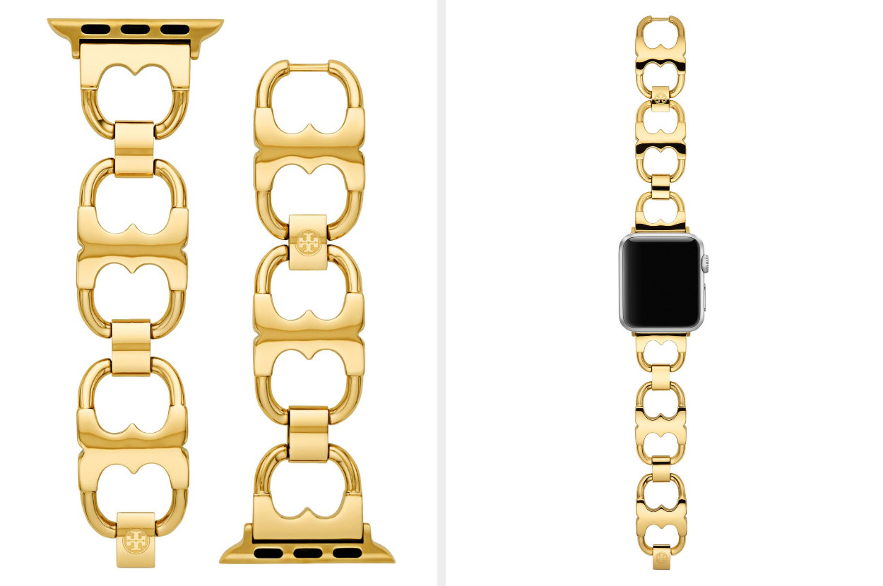 gold chain watch band