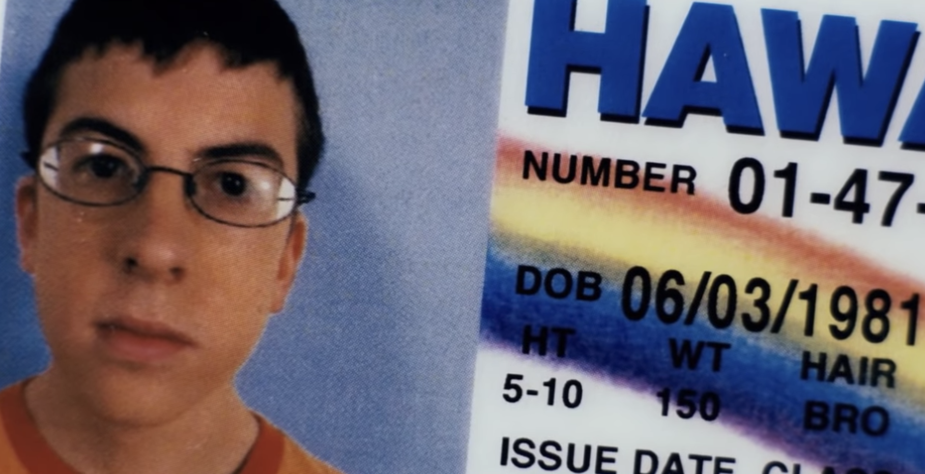 "McLovin's driver license from ""Superbad"""