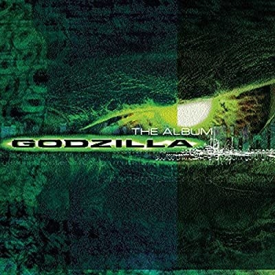 The cover for the The Godzilla soundtrack