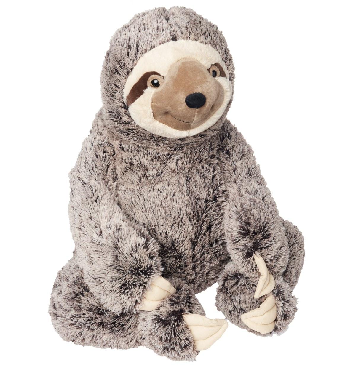A sloth plush