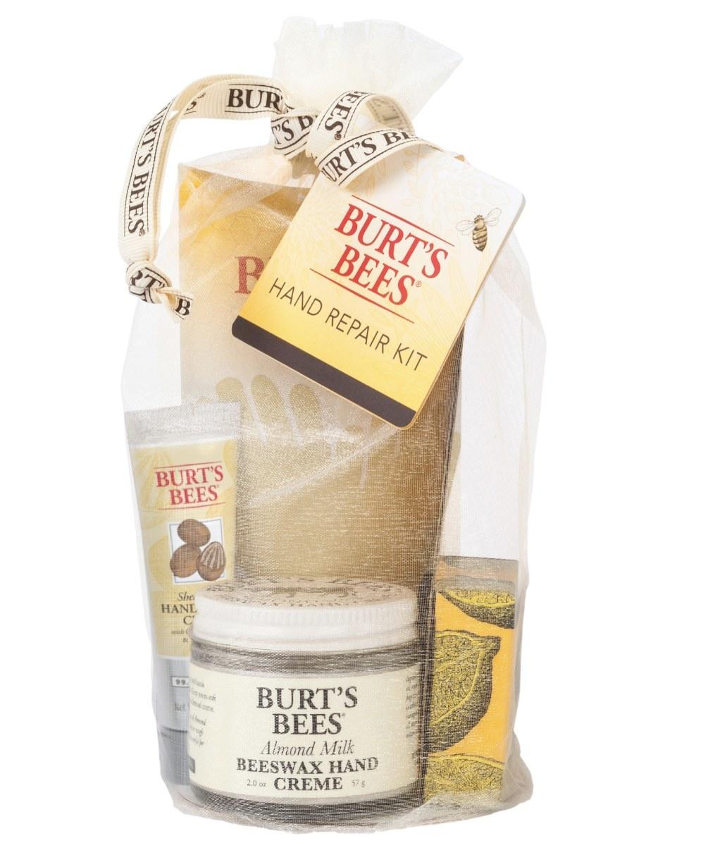 The Burt's Bees gift set