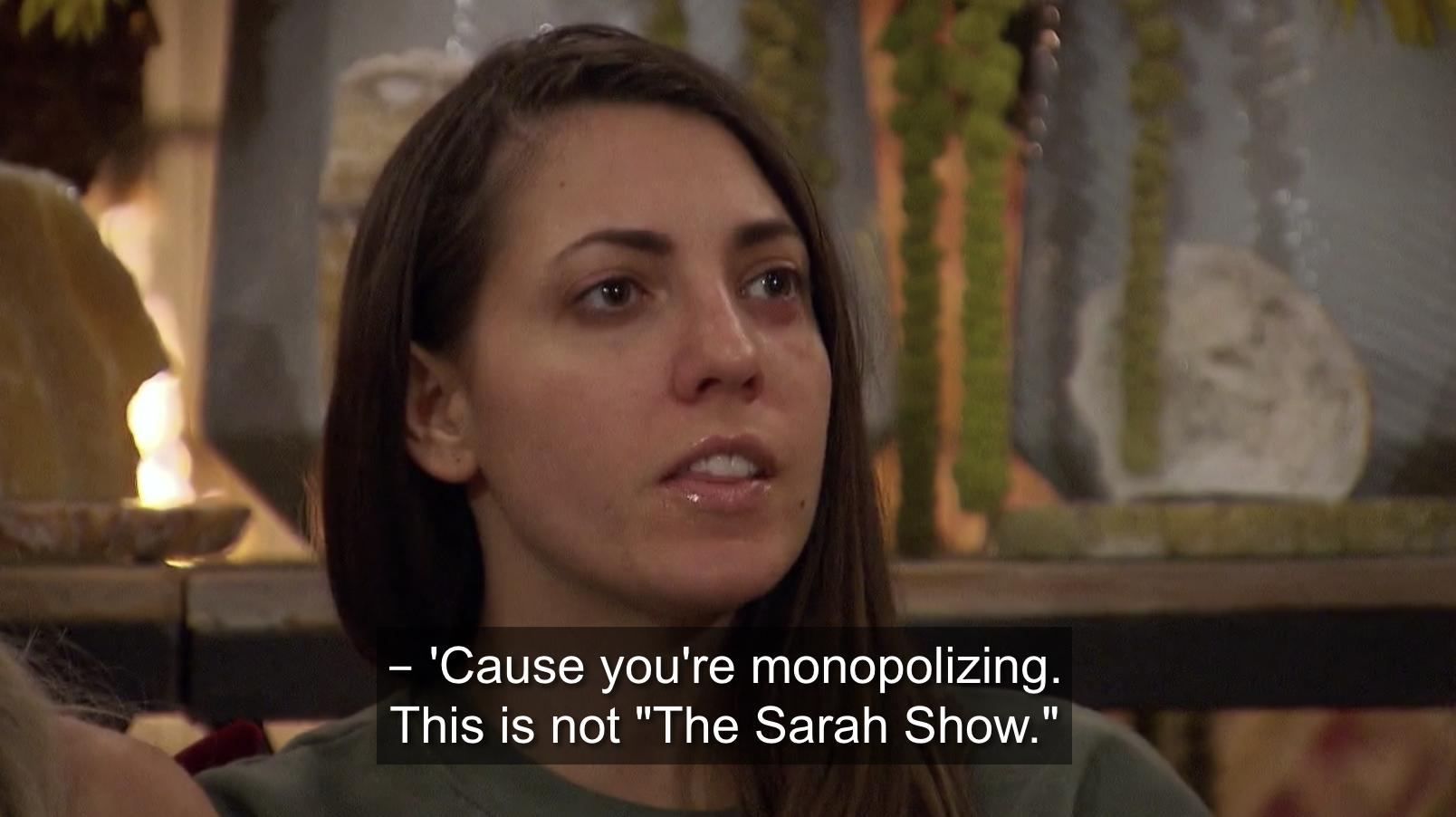 Victoria confronting Sarah