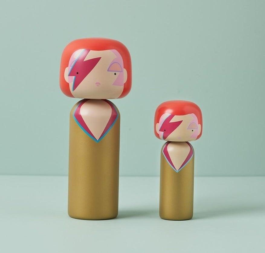 the David Bowie dolls