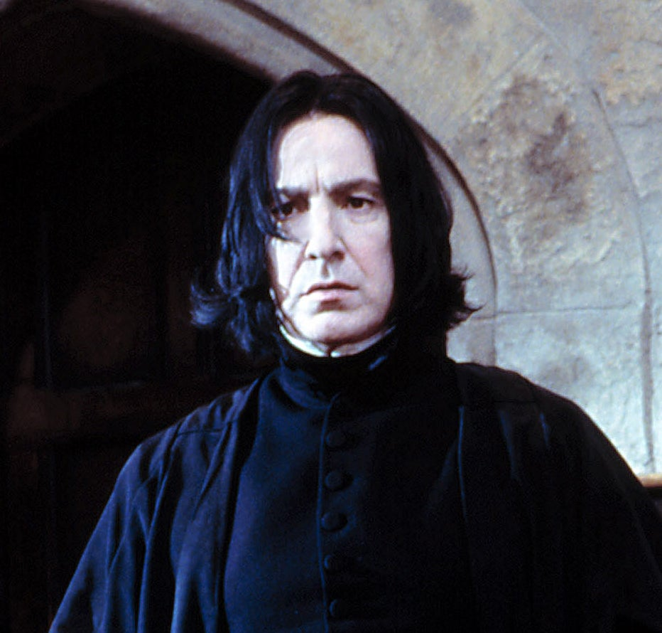 Snape in the first film