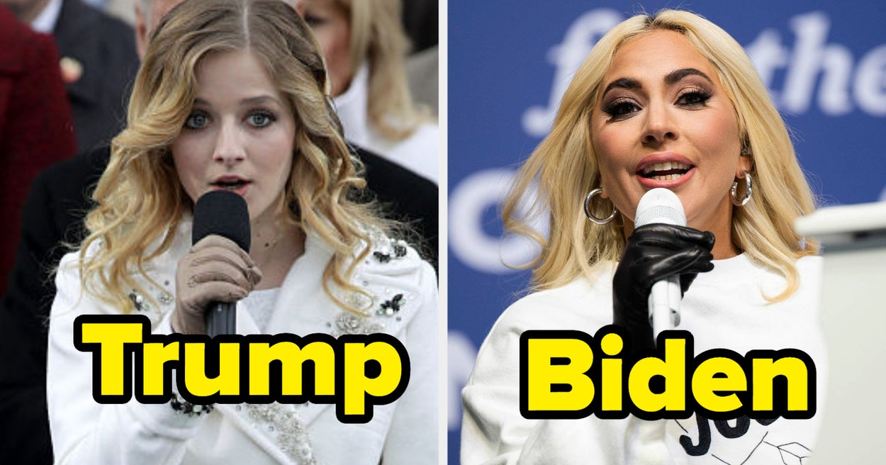 15 People Who Performed At Trump's Inauguration Vs. 15 People Who Will Perform At Biden's