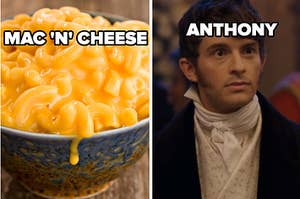 mac and cheese and anthony