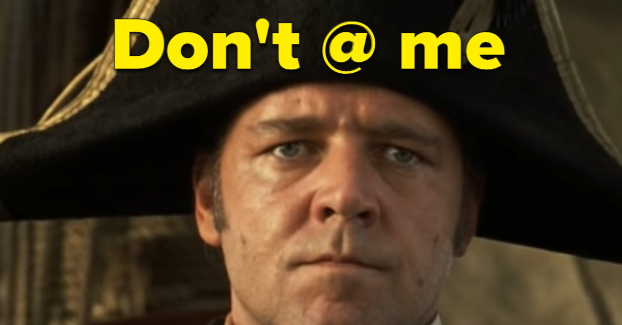 """Russell Crowe And Fans Share Their Love For """"Master And Commander"""" After Negative Tweet"""