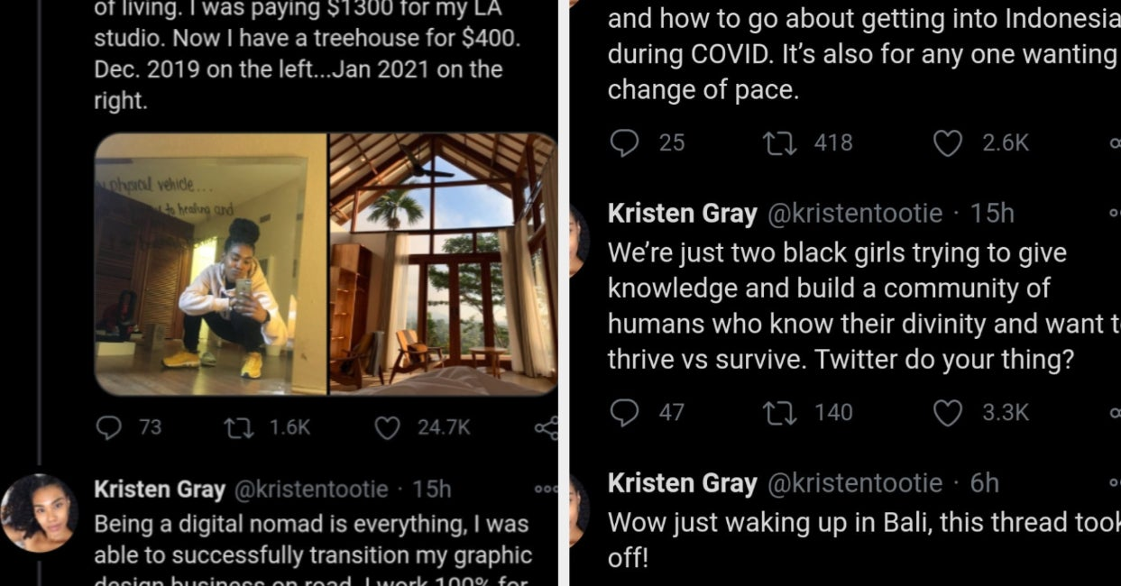 An American Influencer Who Promoted The Sale Of Her eBook About How To Move To Bali During The Pandemic Is Now Being Deported
