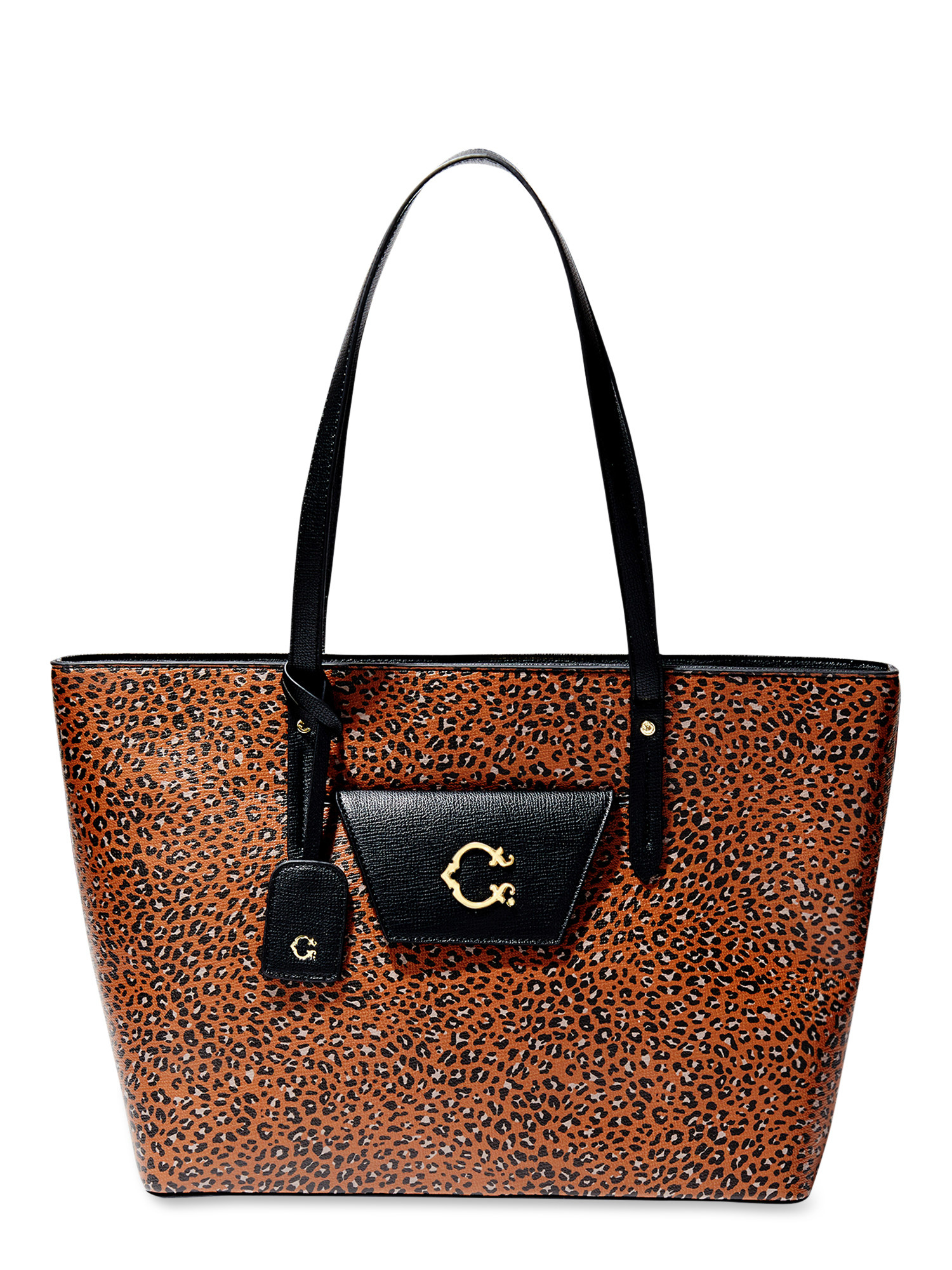The cheetah print bag