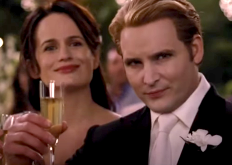 Carlisle and Esme at Bella's wedding