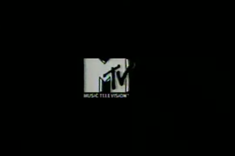 MTV logo with a black background