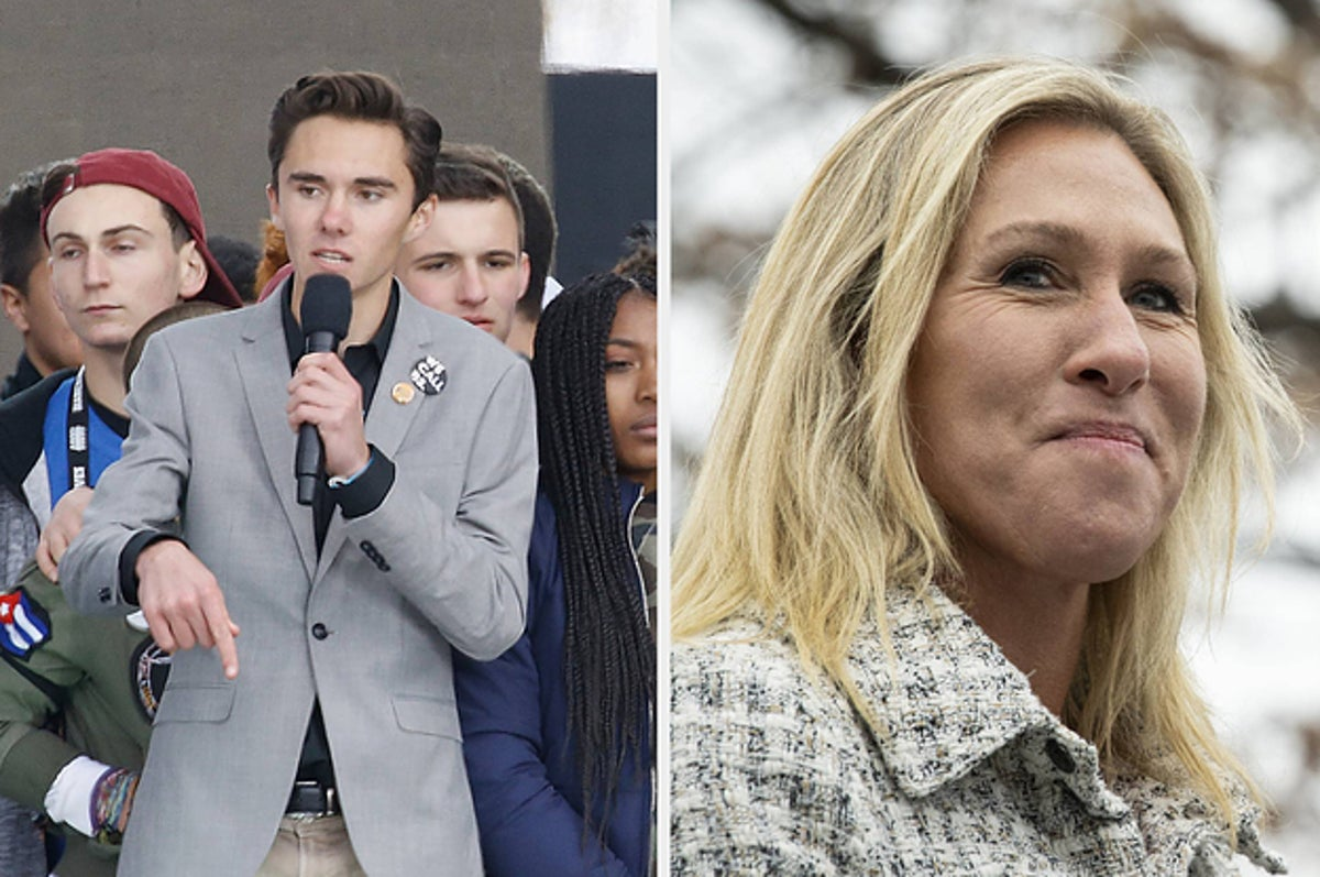 """Parkland Survivors Want Marjorie Taylor Greene To Resign For Calling The Shooting A """"False Flag"""""""