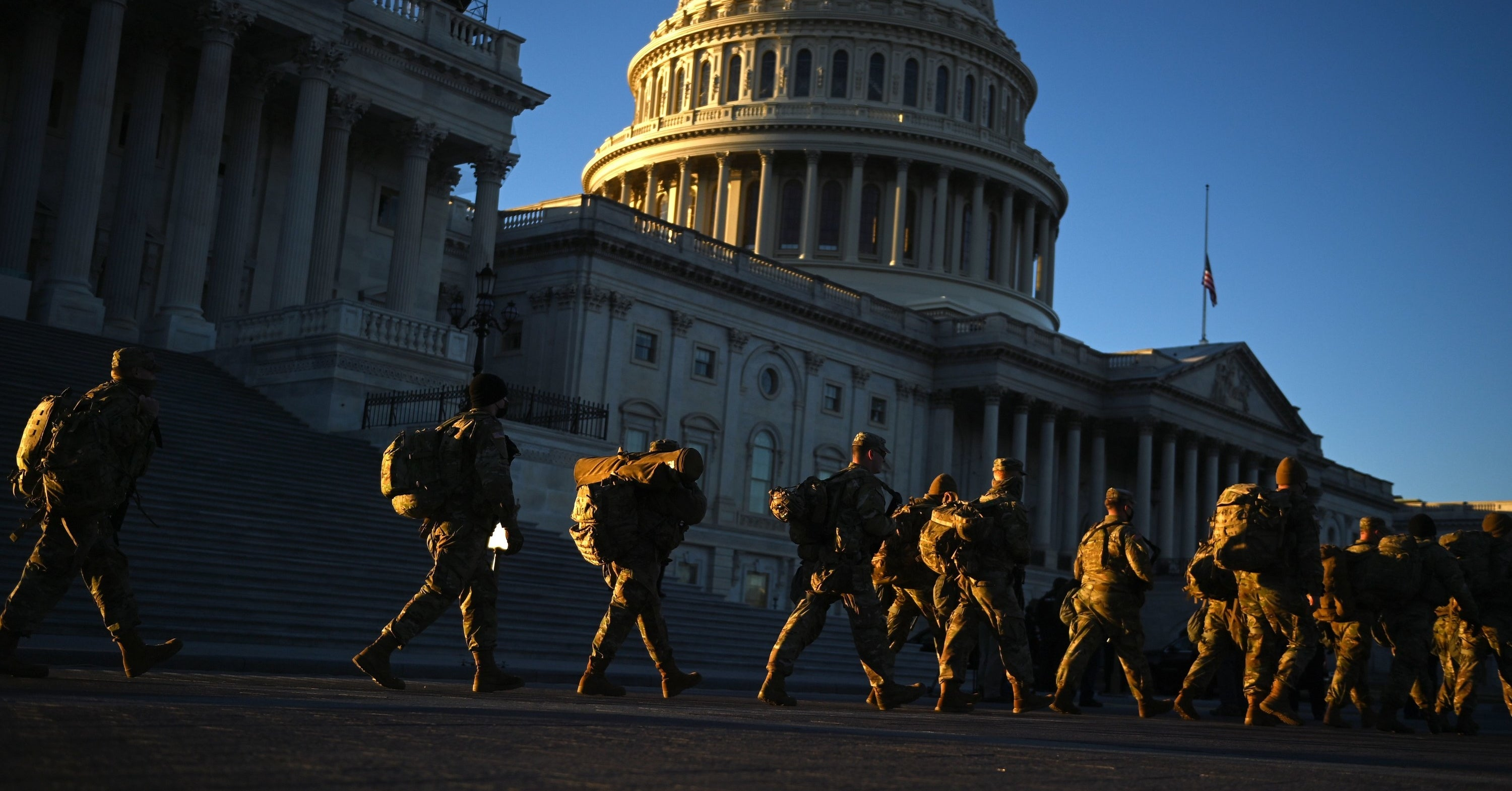 There Wasn't Enough Security To Prevent The Capitol Riot. Now, DC Is A Fortress.