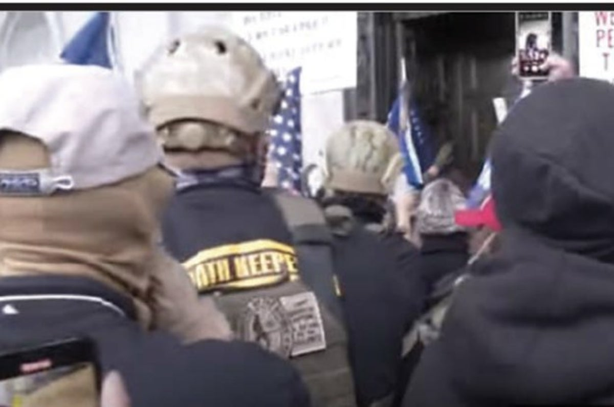 Extremist Militia Members Used Facebook Messages To Conspire And Plan The US Capitol Coup