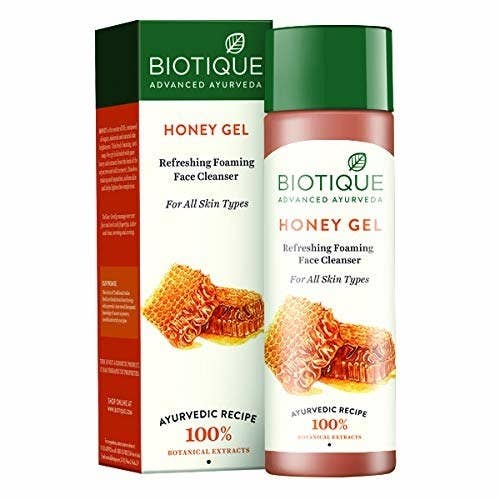 A honey facial cleanser