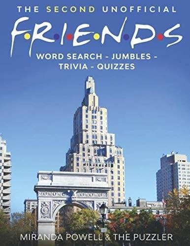 The cover of the Friends activity book
